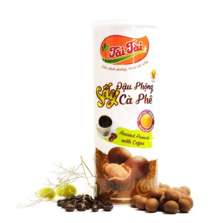 Chrupiące orzeszki ziemne w cieście kawowym 210g TaiTai
