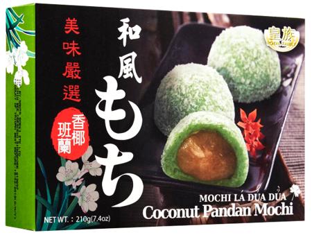 Ciasteczka mochi z kokosem i pandanem 210g Royal Family