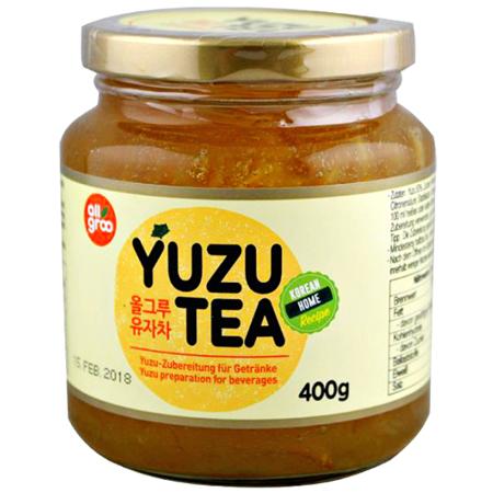 Herbata z yuzu 400g