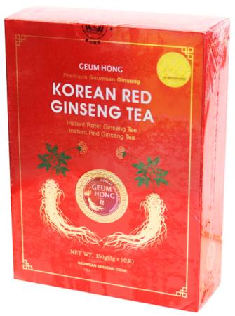 Herbatka z czerwonym żeń-szeniem instant 150g Geum Hong
