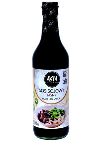 Jasny sos sojowy bezglutenowy 500ml Asia Kitchen