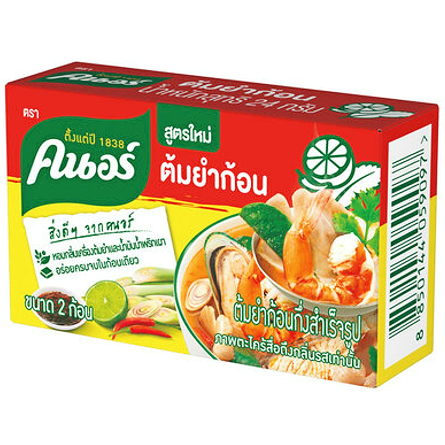 Kostki rosołowe Tom Yum 24g Knorr
