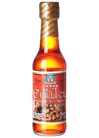Olej sojowy chili 250ml Healthy Boy Brand