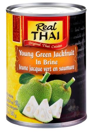 Owoce chlebowca (jackfruit) w słonej zalewie 565g Real Thai