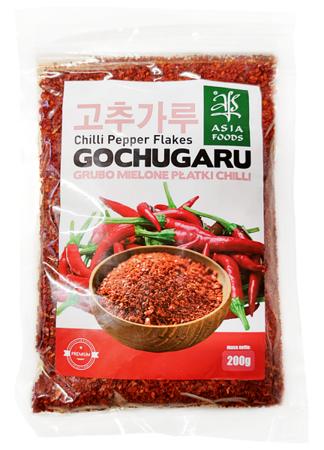 Papryka Gochugaru, grubo mielone płatki chili 200g -  Asia Foods