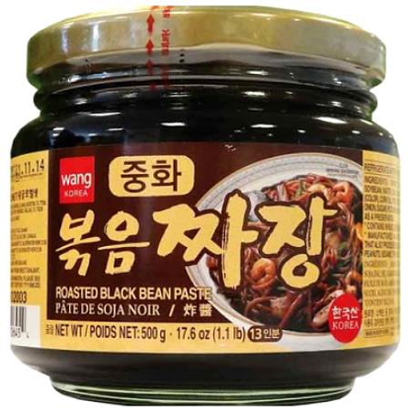 Pasta z czarnej fasoli, chunjang 500g Wang Korea
