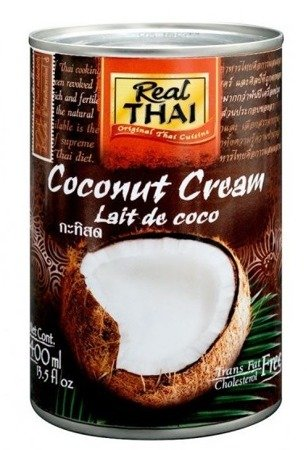 Śmietanka kokosowa 95% Real Thai 400ml