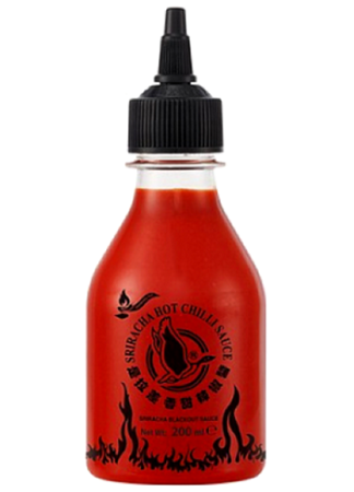 Sos chili Sriracha Blackout, super ostry 200ml