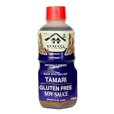 Sos sojowy Yamasa Tamari bezglutenowy 500ml