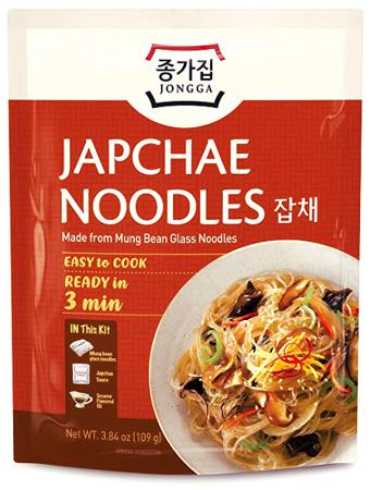 Zestaw do przygotowania Japchae Noodles 109 Jongga