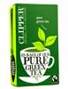Zielona herbata organiczna, 25 saszetek Clipper